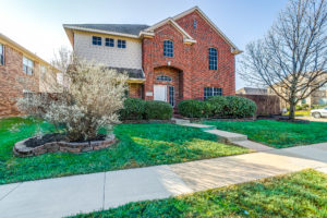 single family home in Plano Texas being managed by a property manager